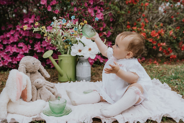 Children's vintage azalea tea party inspiration