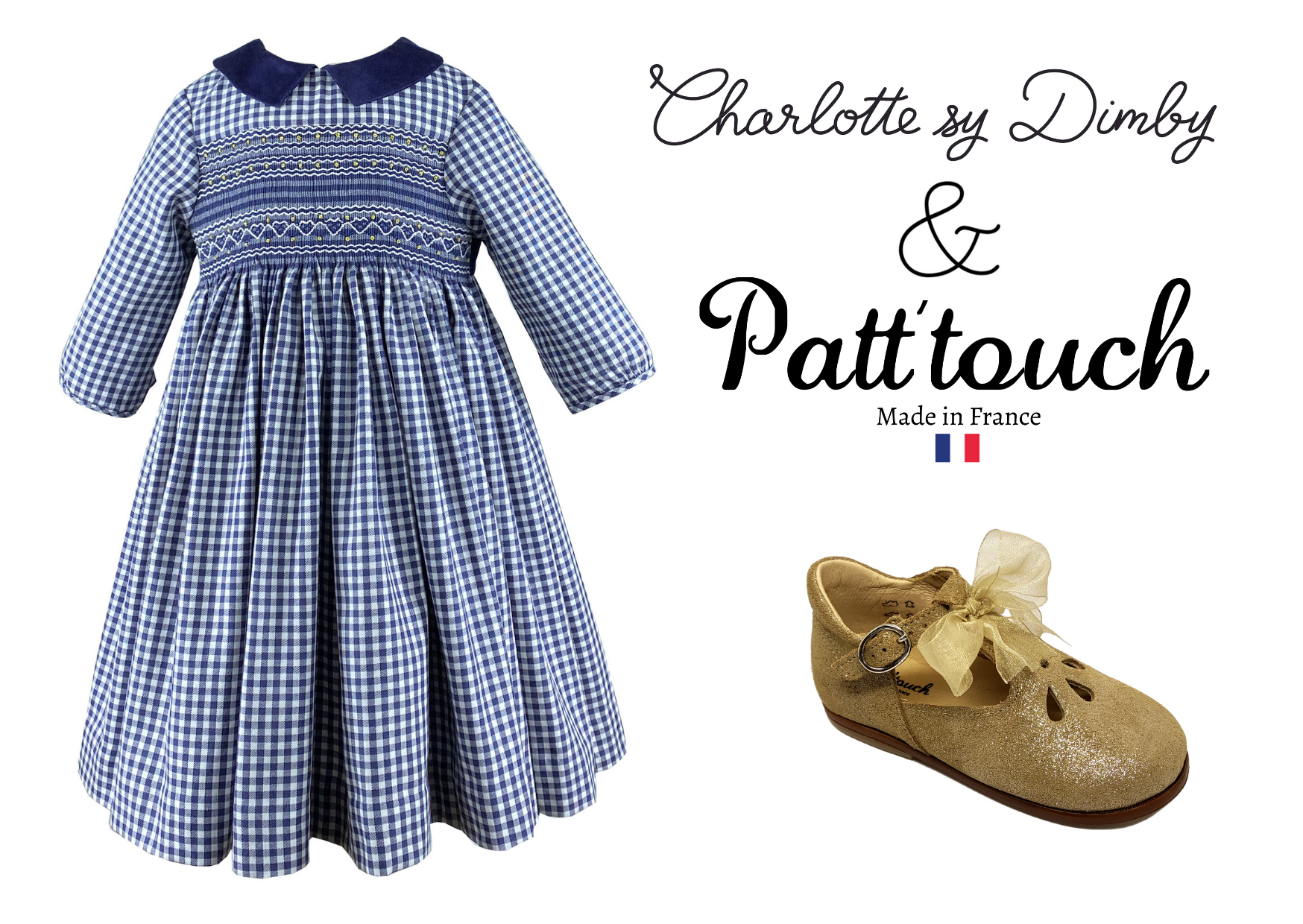Patt'touch & Charlotte sy Dimby : a pair of shoes and a dress