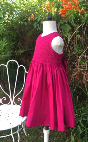 Handmade smocked dress