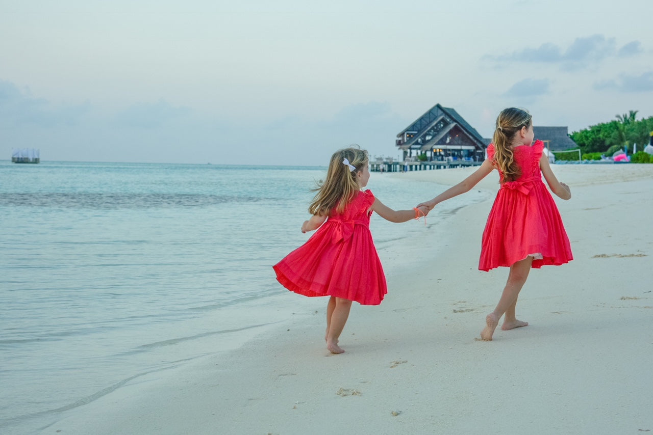 charlotte sy dimby smocked dresses Maldives treasure box ideas to keep children happy and busy covid