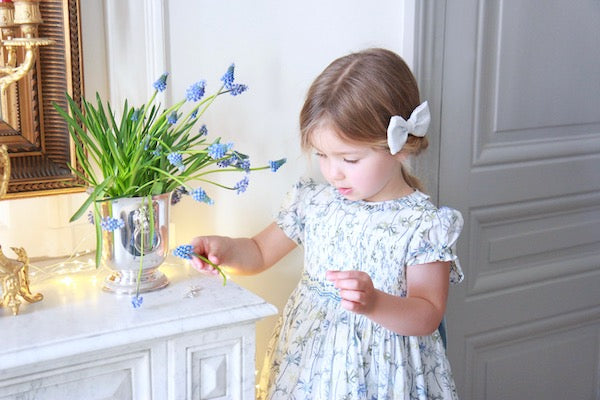 Charlotte sy Dimby and L'Île aux Fées - classic handmade childrenswear, chic French style for babies and girls