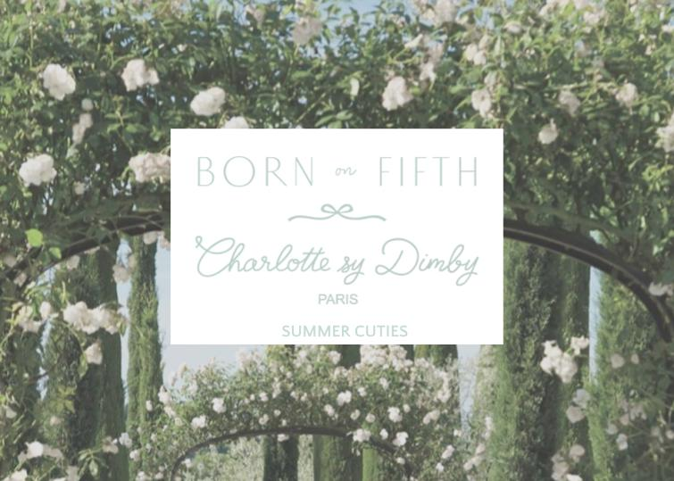 Summer cuties - exclusive collection with Born on Fifth