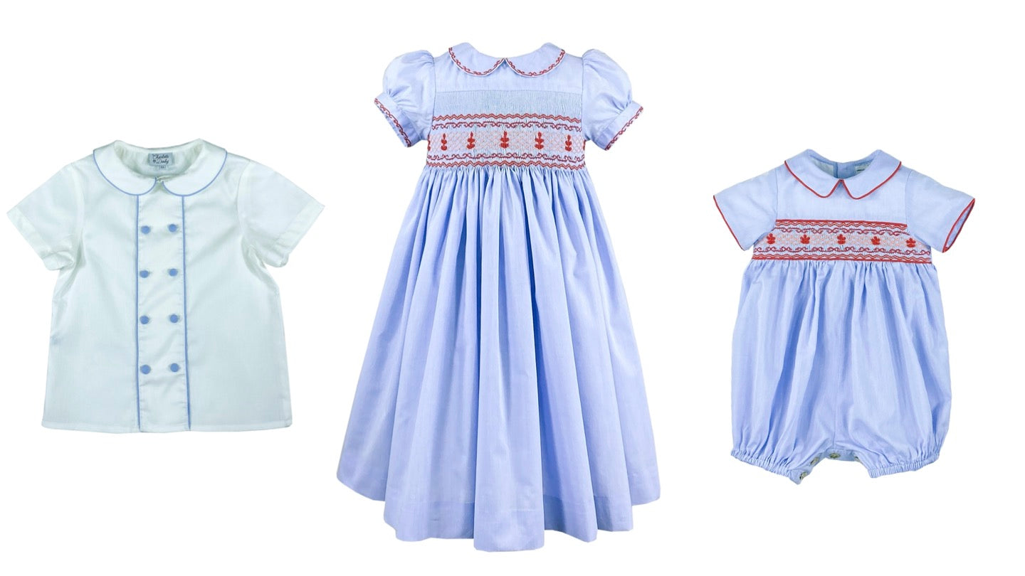 Royal family sibling set - Traditional heritage style outfit for children