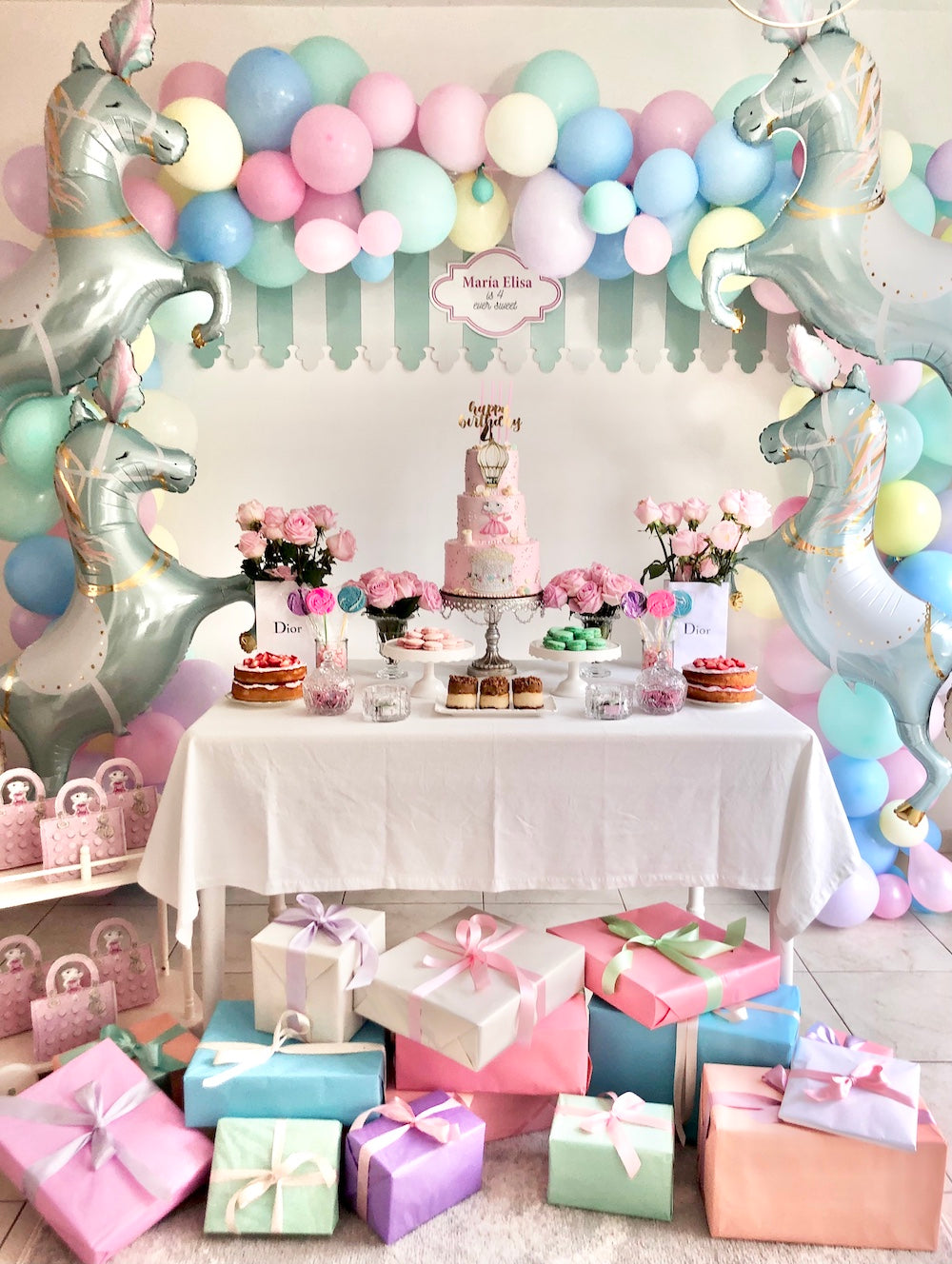 Claris the Mouse and Charlotte sy Dimby party inspiration