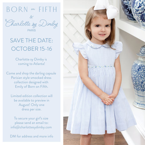 charlotte sy dimby born on fifth smocked dresses capsule collection atlanta us