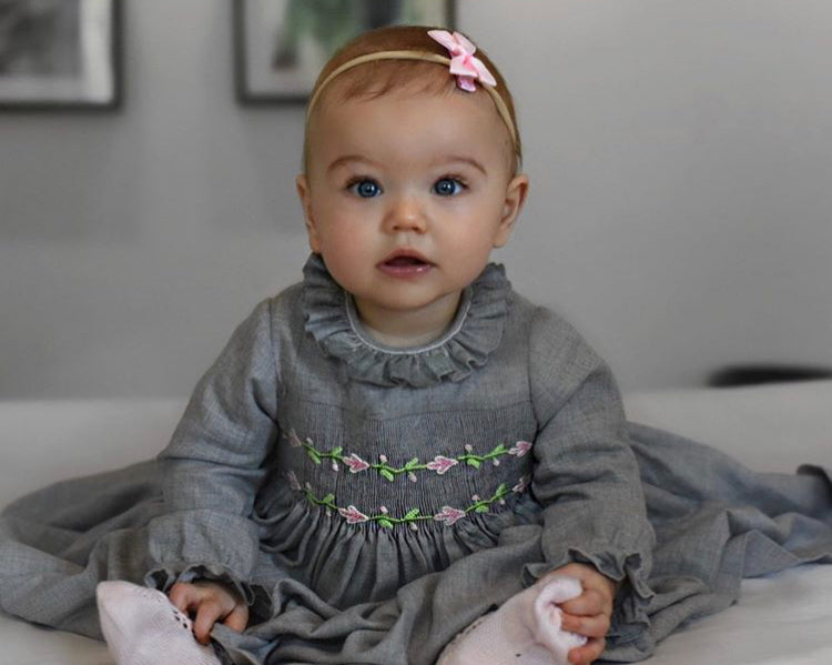 baby smocked dress happy client charlotte sy dimby netherlands