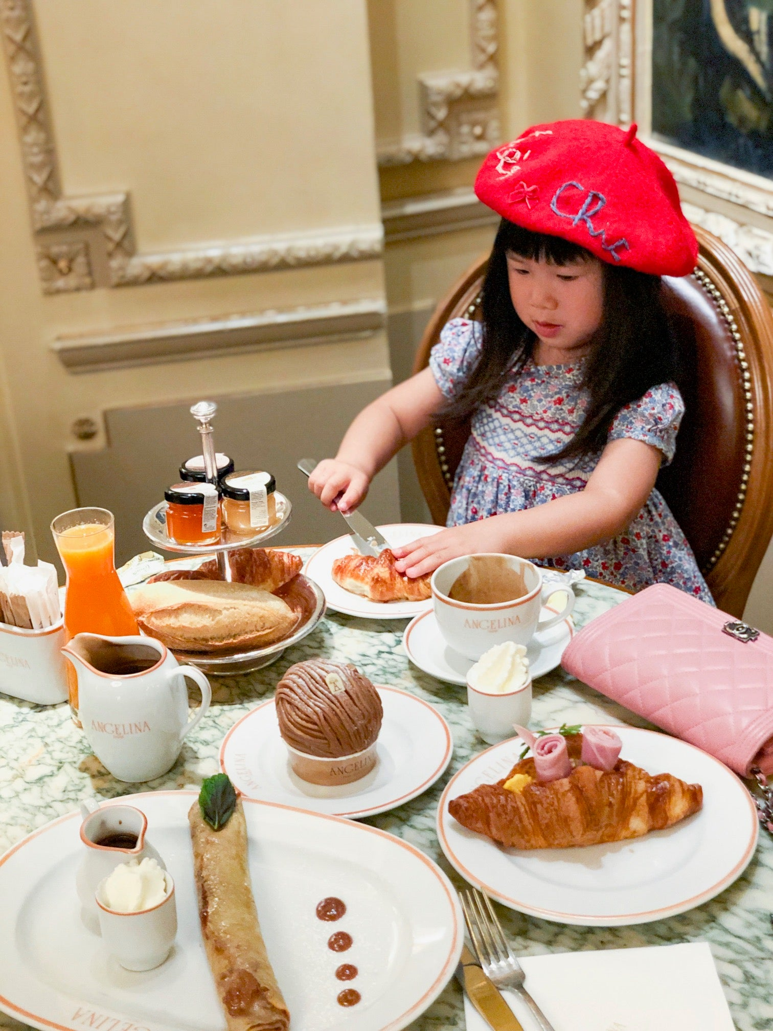 Paris through the eyes of a child French breakfast
