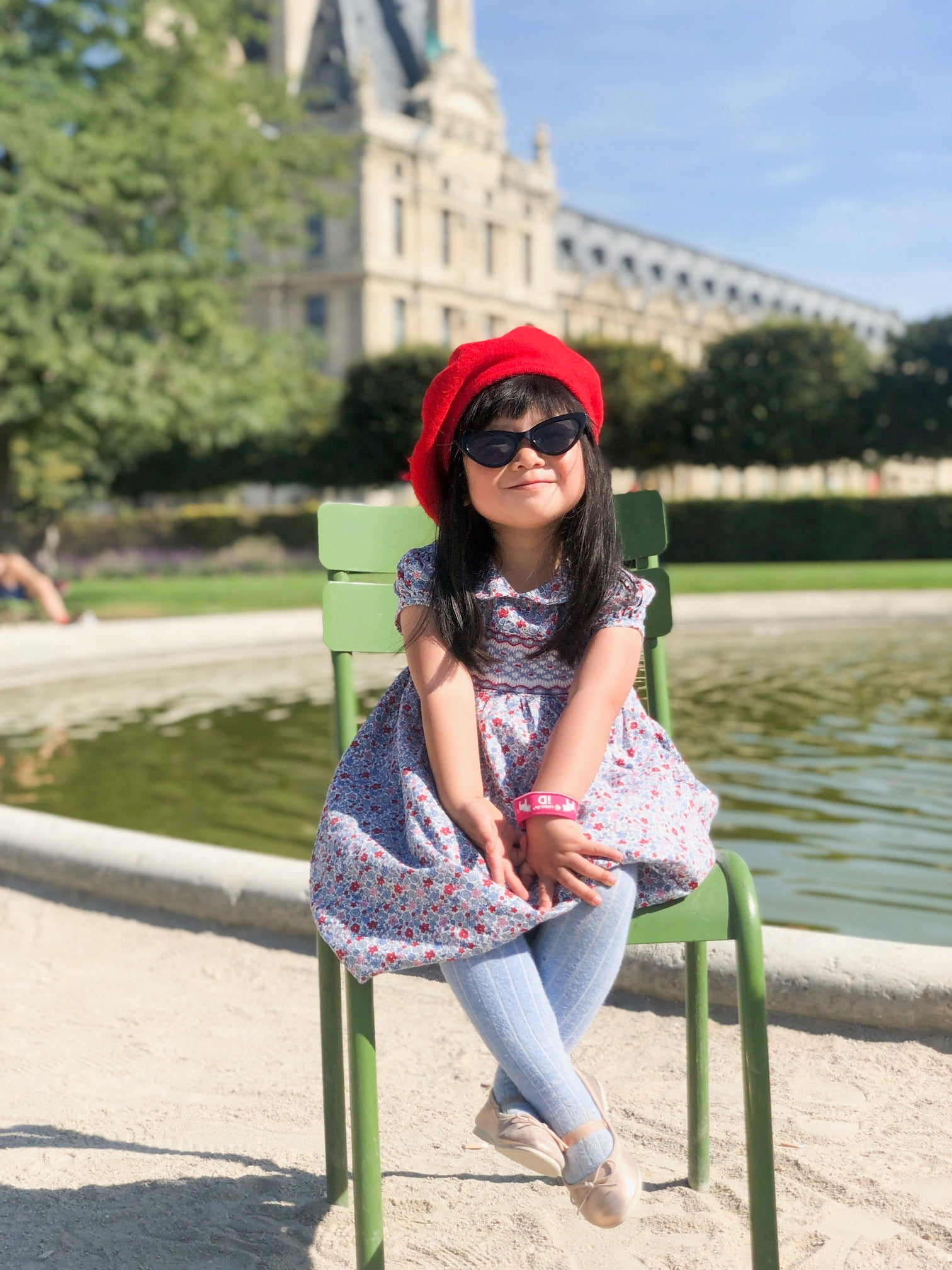 Paris through the eyes of a child Tuileries