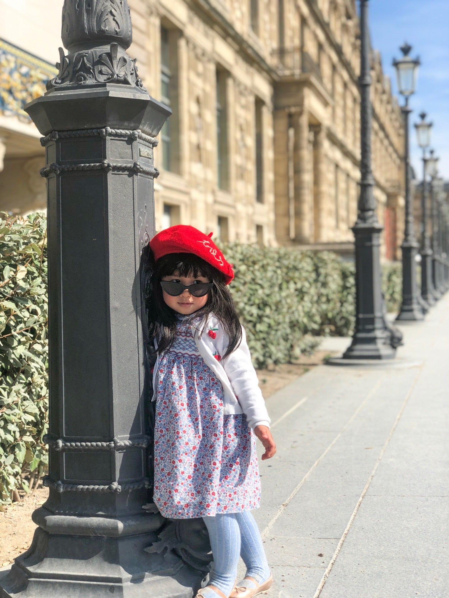 Paris through the eyes of a child beret