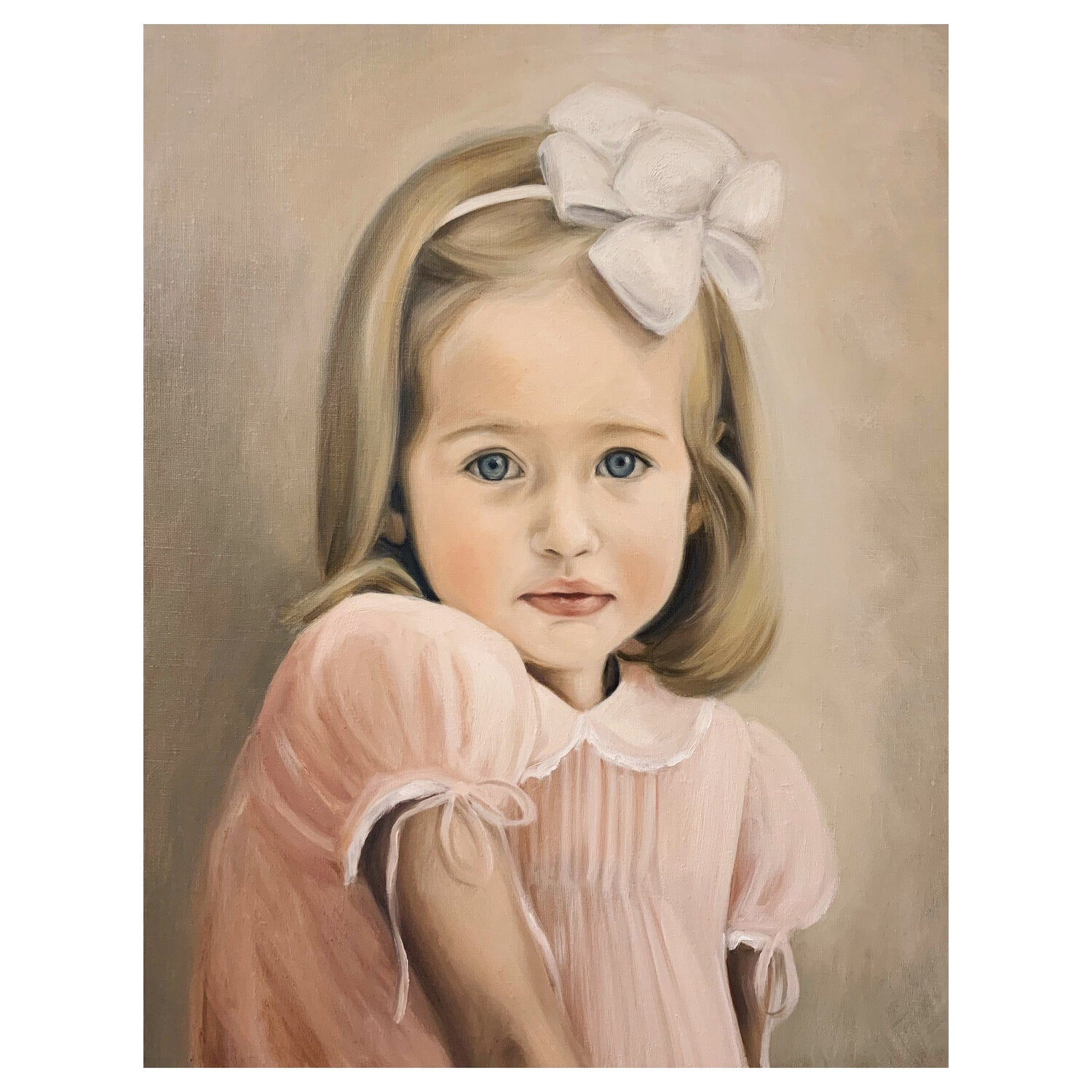 Lauren Phelps - Capturing the magic of childhood - Commissioned portrait - Charlotte sy Dimby