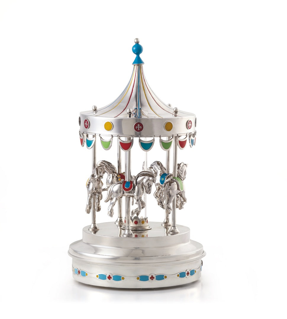 Where to find carousel for children, merry go around home decor
