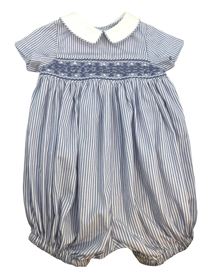 charlotte sy dimby handmade striped baby boy romper suit bubble summer classic chic paris