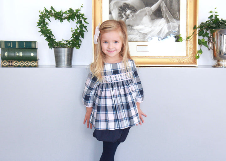 girl-smocked--timeless-wwinter-charlottesydimby-frenchstyle-classic-chic-tartan-blouse