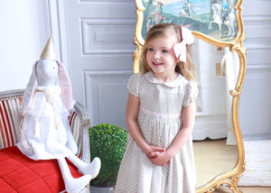 PRINCESS AND THE PEA SMOCKED DRESS