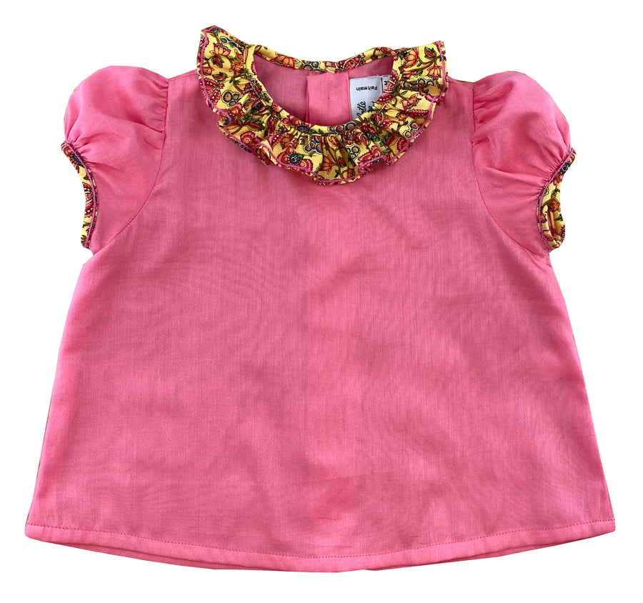 handmade-summer-baby-girl-frilled-collar-puffed-sleeves-pink-blouse-marie