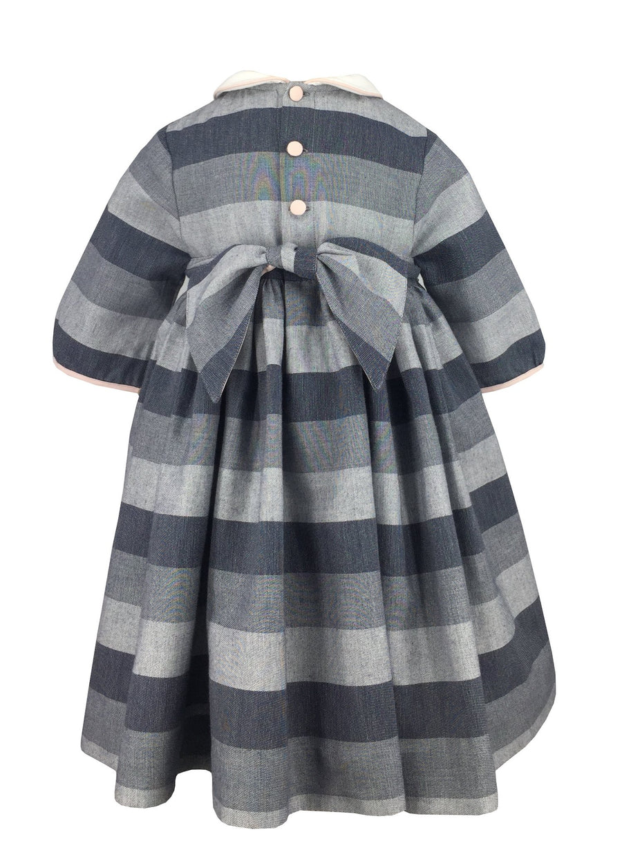 charlottesydimby-frenchstyle-handmade-classic-chic-fall-winter-smocked-cerise-dress-antonella-stripes-baby-girl-childwear