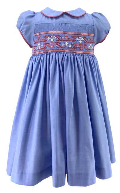 handmade-girl-dress-cerise-secret-smocked-spring-summer-blue-girl-kidswear-classic-frenchstyle