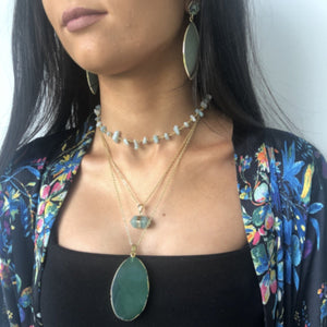 Amazonite Choker Necklace