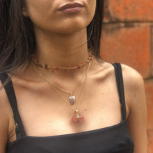 Load image into Gallery viewer, Carnelian Choker Necklace