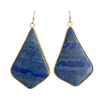 Lapis Lazuli Bell Shaped Earrings