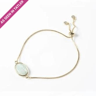 Amazonite Gemstone Slide Bracelet