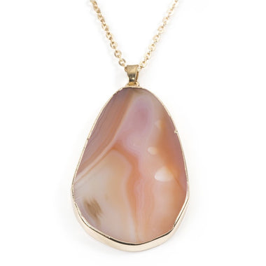 Natural Brown Agate Pendant
