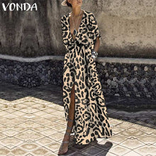 Load image into Gallery viewer, Lena's Leopard Dress