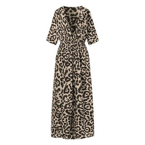 Lena's Leopard Dress