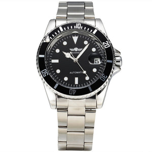Winner Classic Steel Watch
