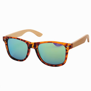 Vintage Wood & Plastic LS5003 Sunglasses