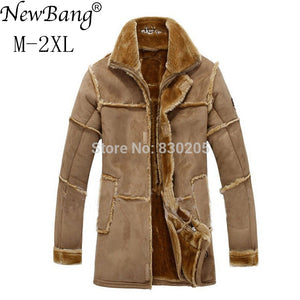 NewBang Oversized Jacket with Faux Fur Lining