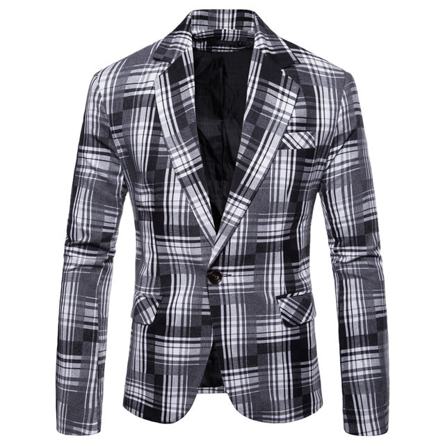 Casual Mens Blazer