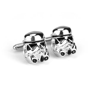 Star War 3D Darth Vader Cufflinks