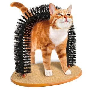 """Super Special Deal"" Cat Self Scratcher Hair De-Shedding Brush"