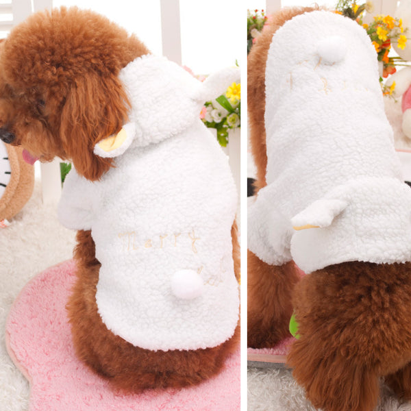 Dog Winter Hoodie Sweater (clothing for dogs)