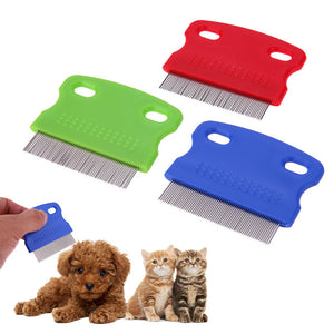 Dog Comb Stainless Steel
