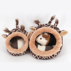 Plush Soft small animal House/Bed
