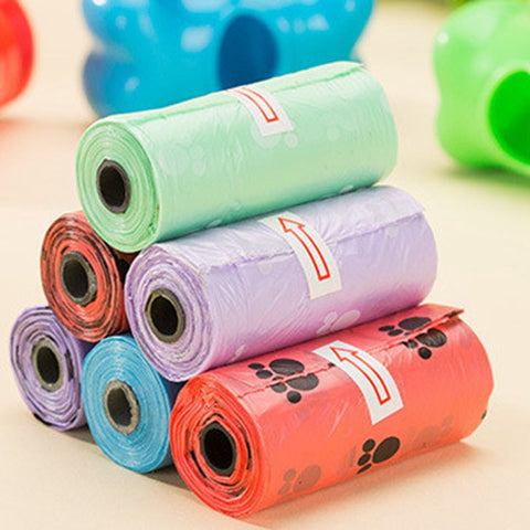 6 roll/Bag Dog Waste Bag