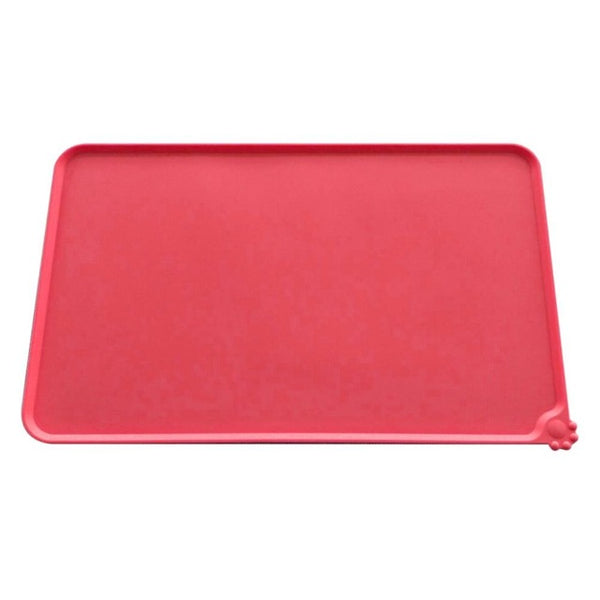 Silicone Wipe Clean Pet Dog Feeding Mat Pad (6 Colors)