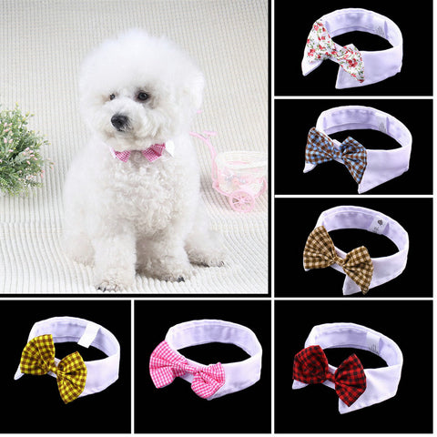 Dog  Bow tie (Wedding Accessories ,Parties or Just for Fun 6 Colors)