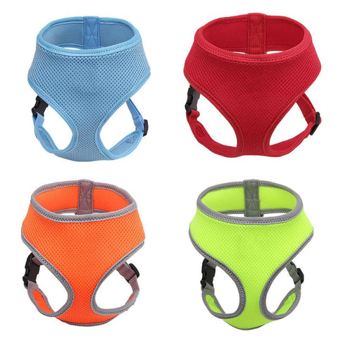 Dog Harnesses (Soft Breathable Air Mesh Chest Strap)