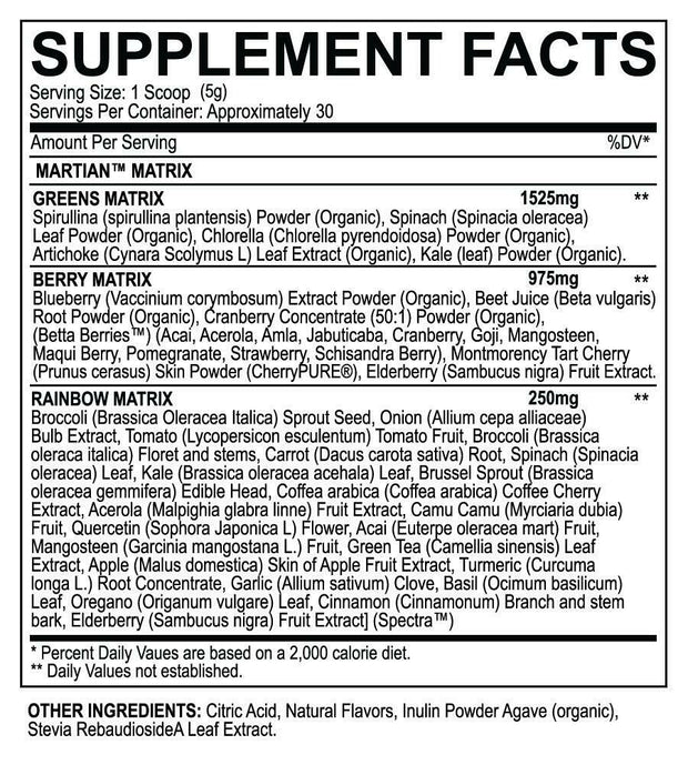 MARTIAN® Greens Superfood