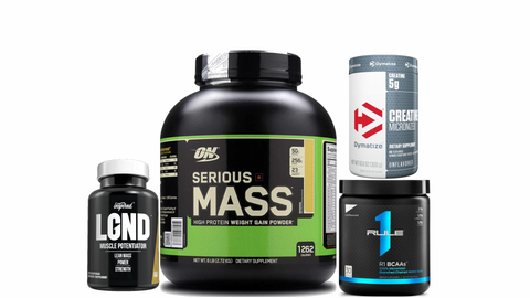 Beginner Mass Gainer Stack