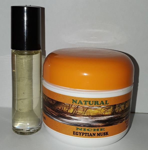 Egyptian Musk Body Butter & Body Oil Set .For Men or Women