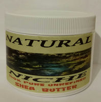 100% NATURAL SHEA BUTTER FROM GHANA WEST AFRICA  8 OZ