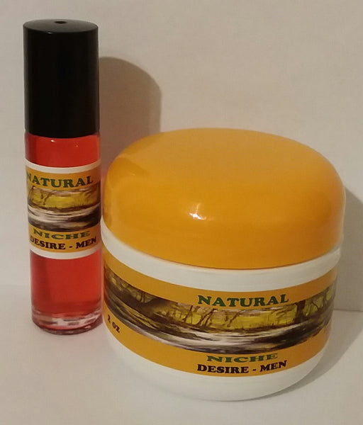 Desire Body Butter & Body oil set for Men