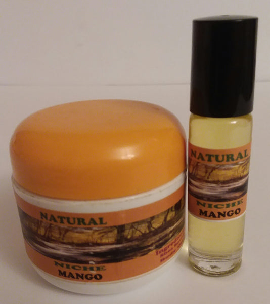 Mango Body Butter & Body Oil Set. For Women