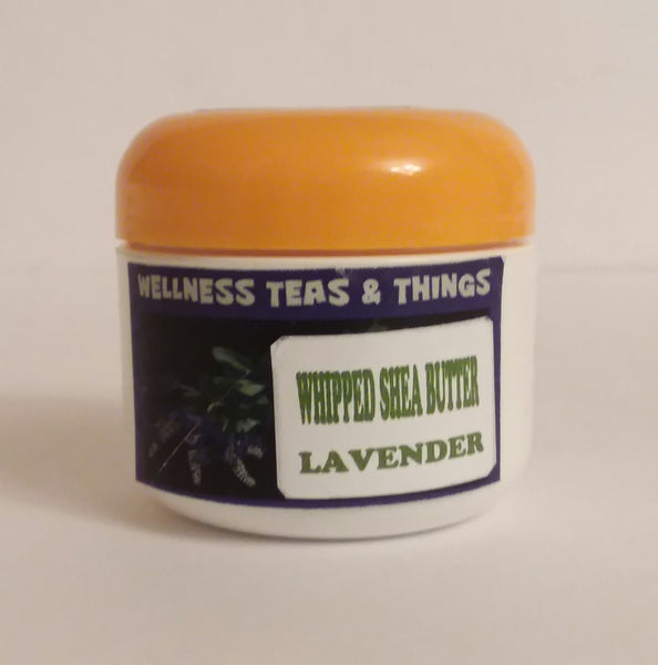 WELLNESS TEAS & THINGS - WHIPPED BODY BUTTER (LAVENDER) 2 OZ