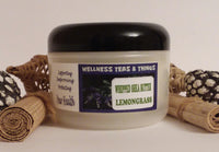 WELLNESS TEAS & THINGS WHIPPED BODY BUTTER  ( LEMONGRASS) 8OZ
