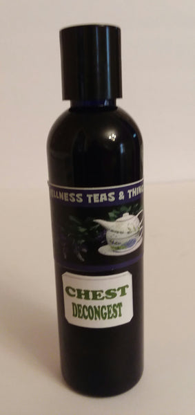"WELLNESS TEAS & THINGS ""CHEST DECONGEST"" 4 OZ"